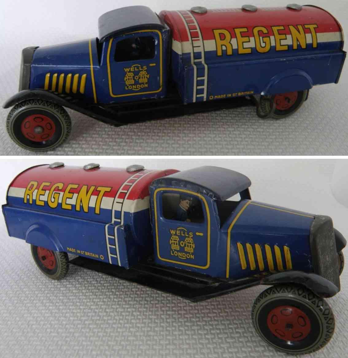 brimtoy regent blech spielzeug tanklastwagen
