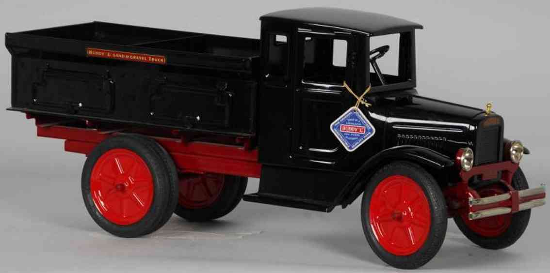 buddy l 202 A stahlblech sand- und kies-lastwagen t produktion