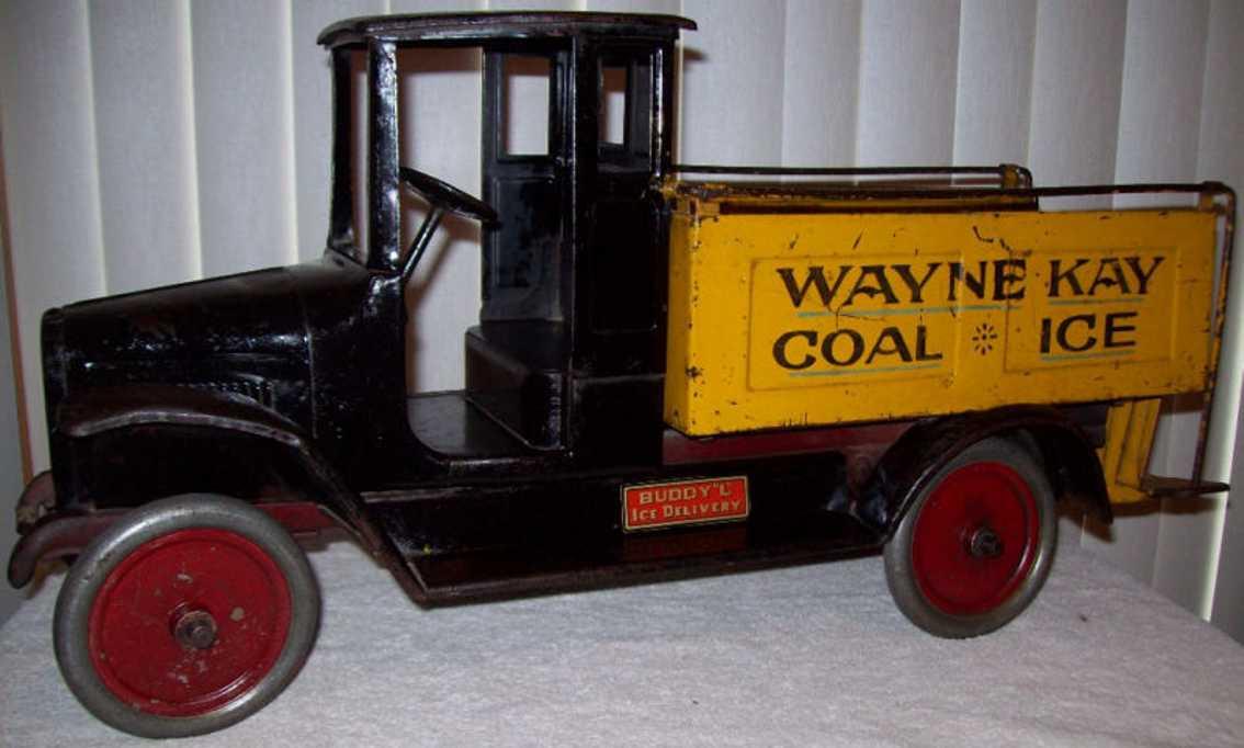 Buddy L 207 Wayne Kay Coal Ice Lieferwagen
