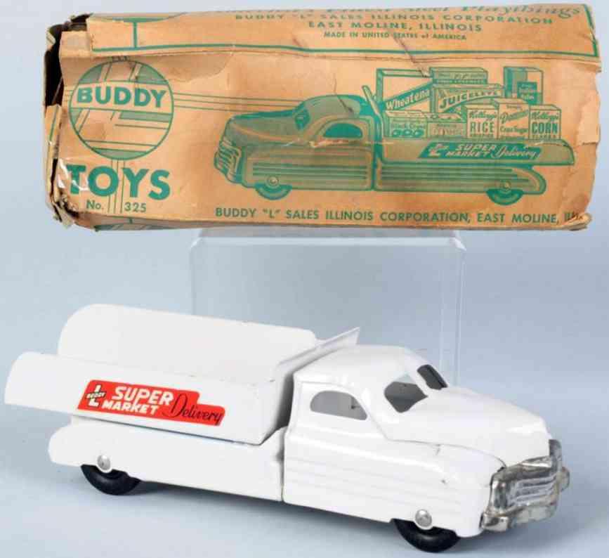 buddy l 325 stahlblech spielzeug lastwagen