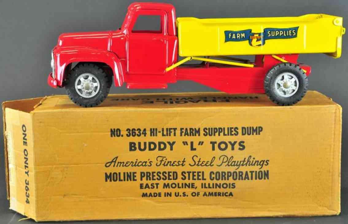 buddy l 3634 blech spielzeug lastwagen