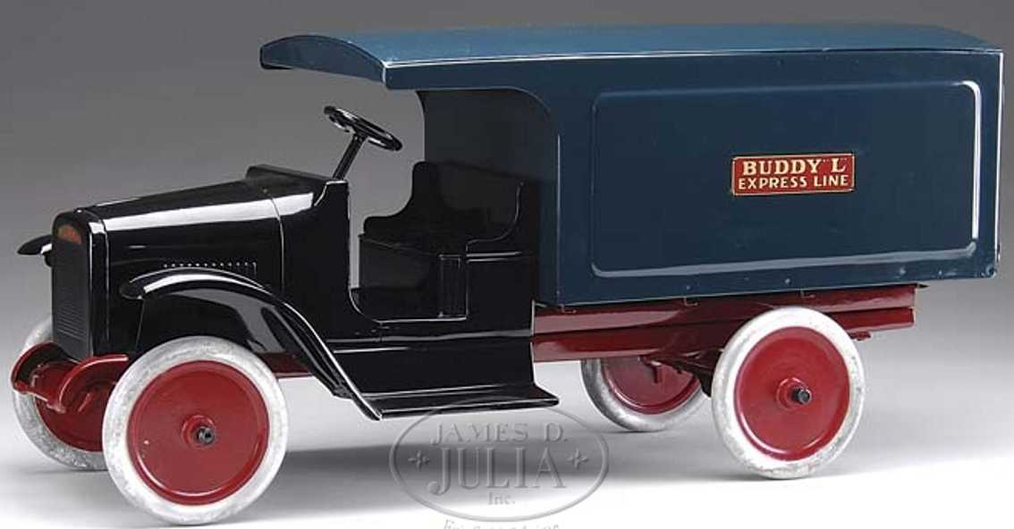 buddy l 204 blech spielzeug lastwagen umzugswagen