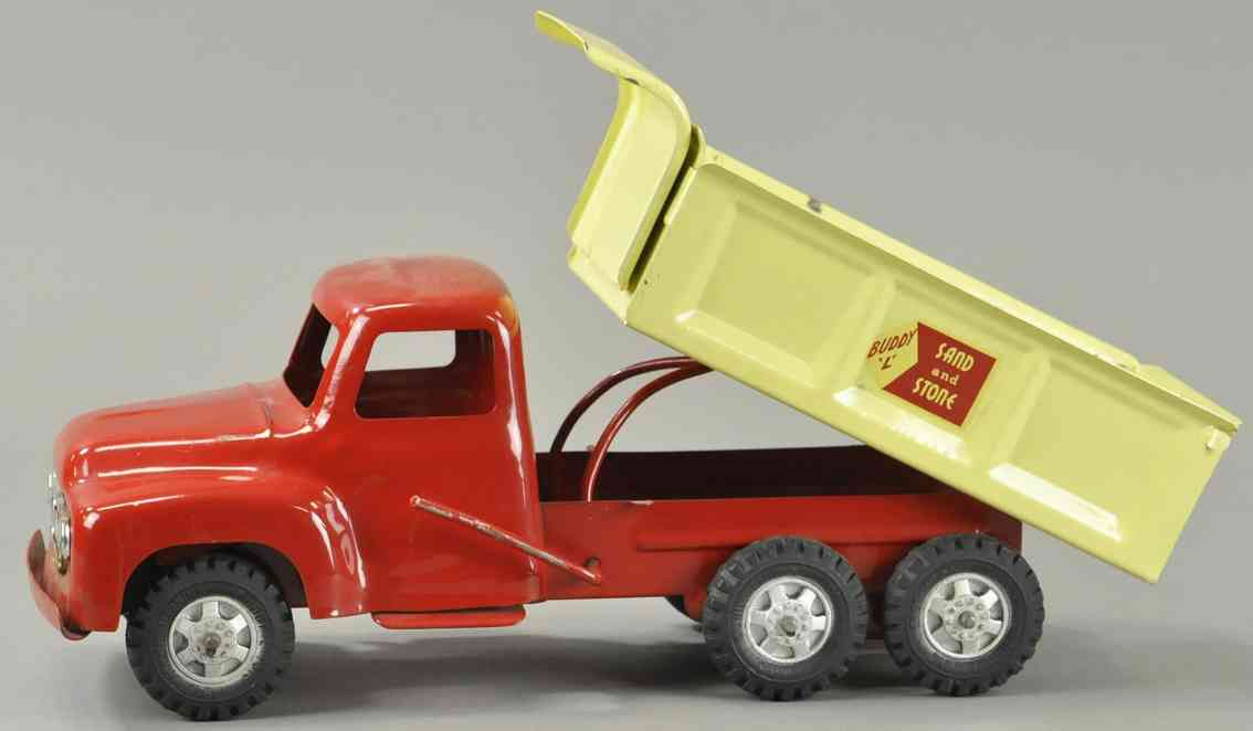 buddy l blech spielzeug kipplastwagen