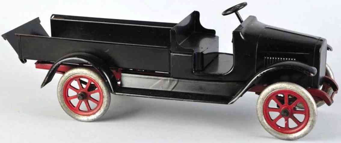 buddy l pressed steel toy express truck