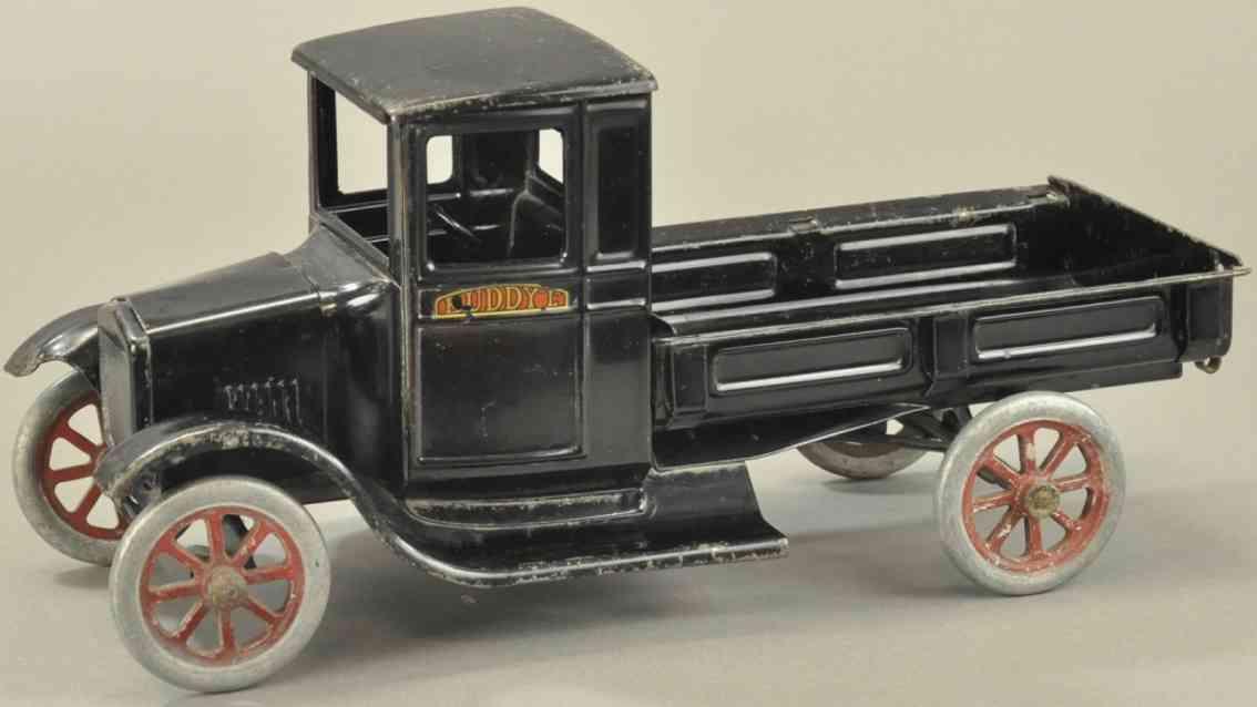buddy l stahlblech spielzeug express ford lastwagen eine tonne schwarz