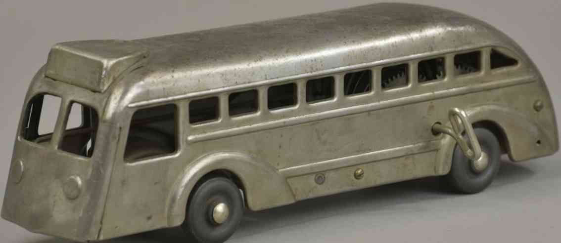 buddy l Prototype bus 13 blech spielzeug bus handgefertigt musterexemplar uhrwerk