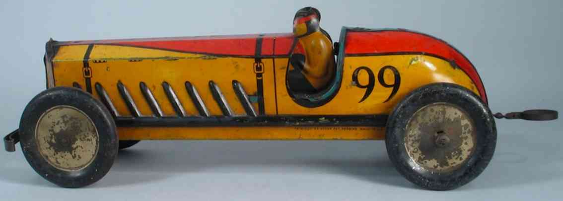 buffalo toys 99 blech spielzeug rennauto rennwagen special speeder 2 fahrer