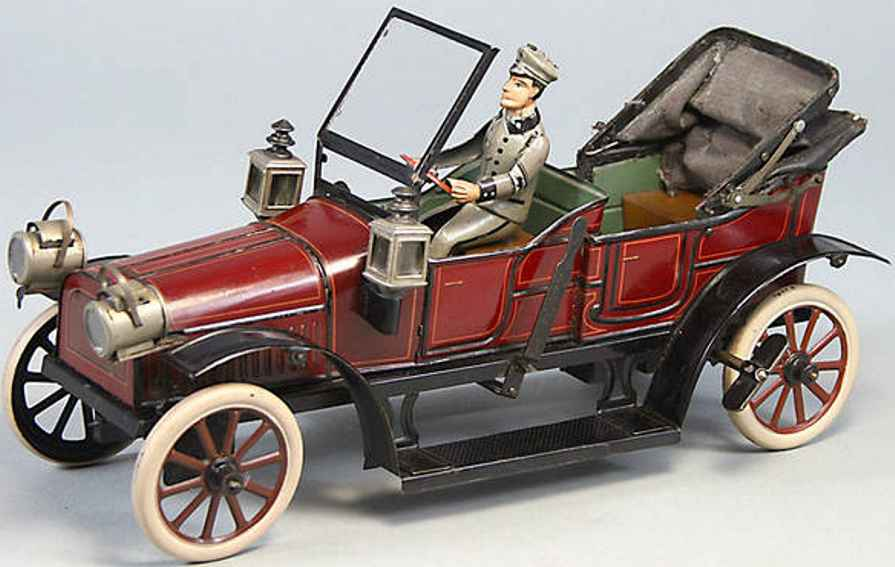 Carette Oldtimer Open 4-seater in luxury carrying out