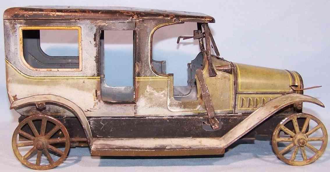 carette blech spielzeug auto bub-carette modell mit uhrwerk