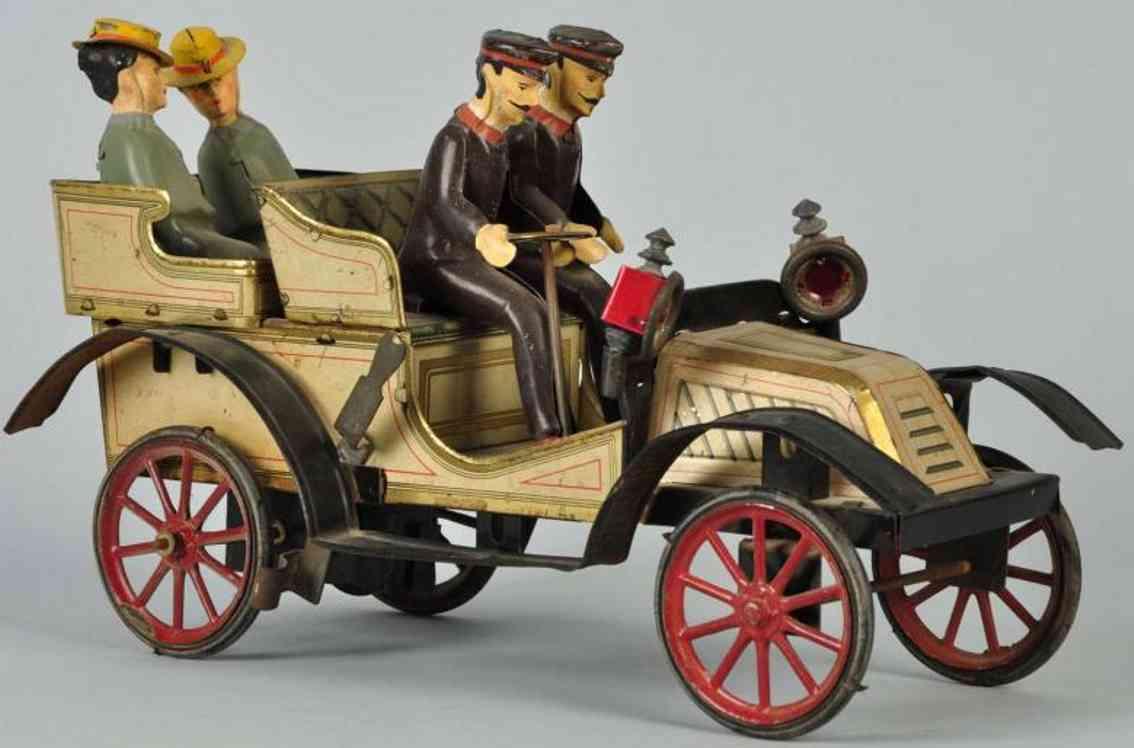 carette cabriolet oldtimer tin lithographed limousine