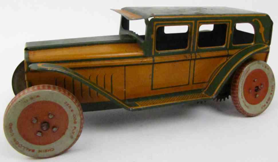 Chein Co. 44 Oldtimer Sedan wind-up toy
