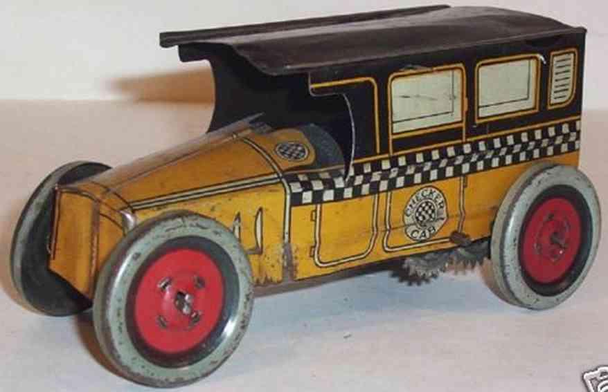 Chein Co. Oldtimer Taxi mit Uhrwerk
