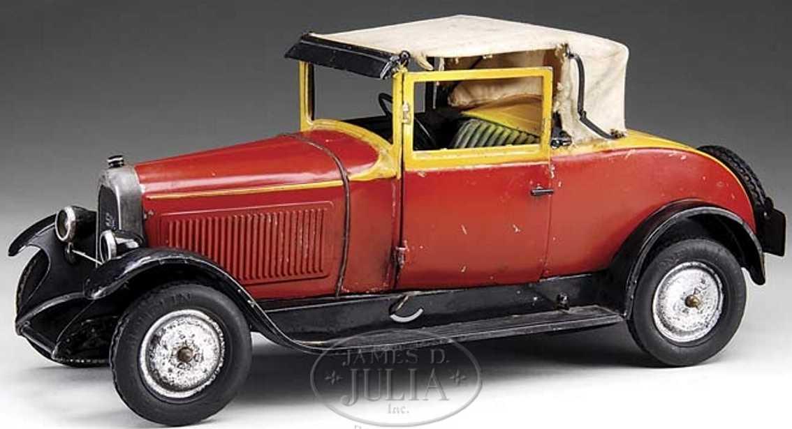 Citroen Oldtimer Coupe mit Faltdach