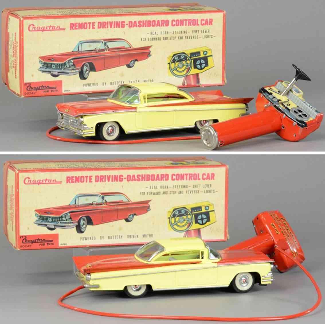 cragstan 90242 blech spielzeug auto mit fernbedienung rot gelb
