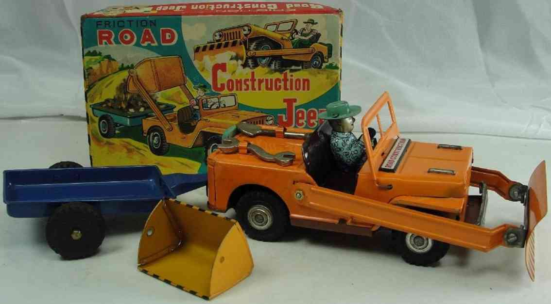 DAIYA Tin road construction jeep