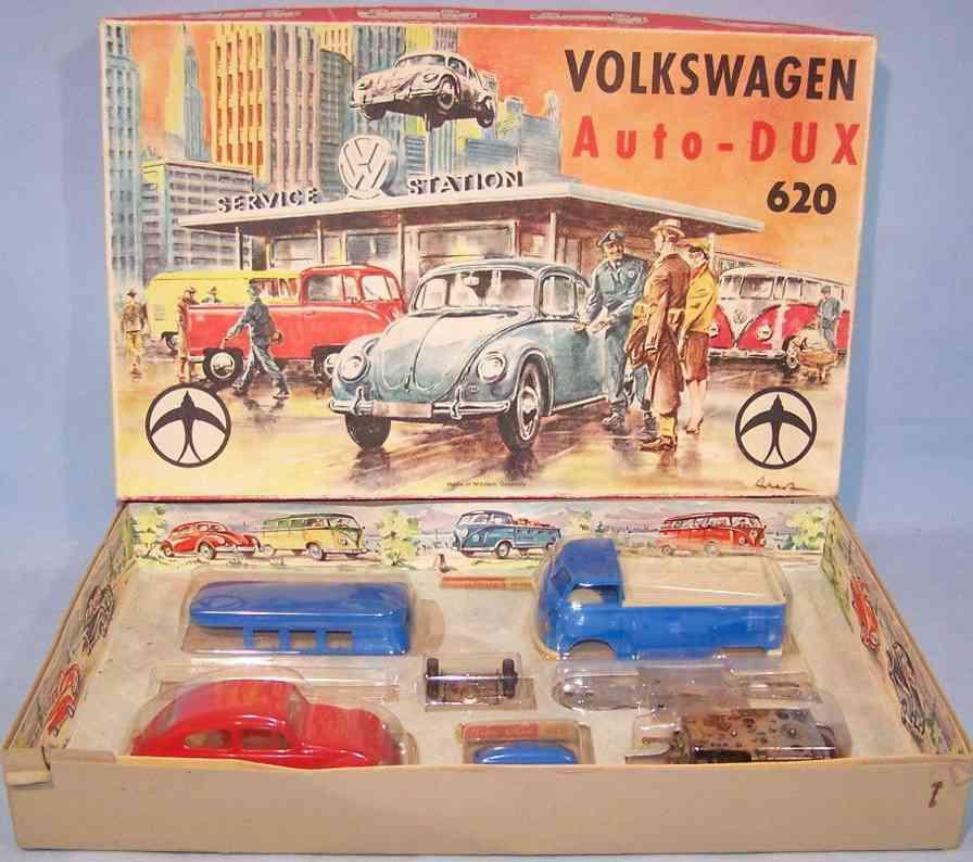 dux 620 tin toy kit car vw kit volkswagen