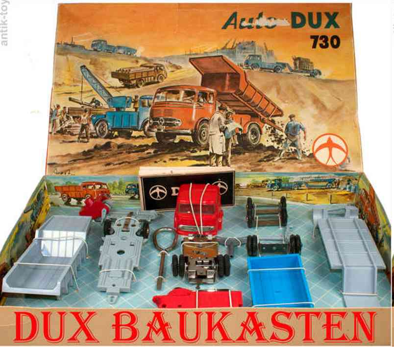 DUX 730 Component system car with clockwork drive