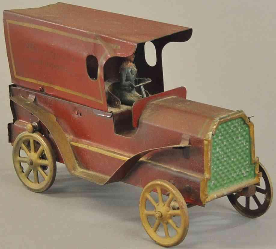 dayton stahlblech spielzeug auto lieferwagen sommerfield's