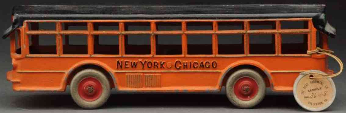 dent hardware co 1648 gusseisen bus doppelmotor orange