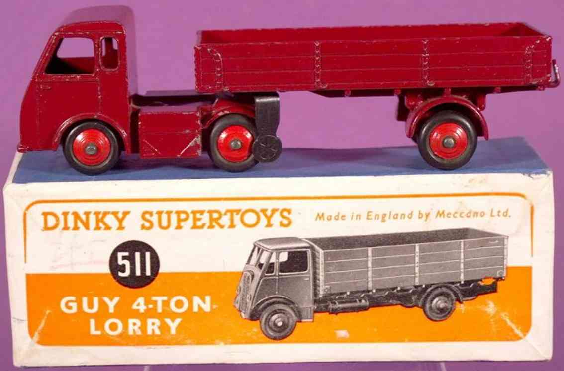 Dinky Toys 511 Guy 4-ton lorry 421 Hindle Smart Helecs Lorry