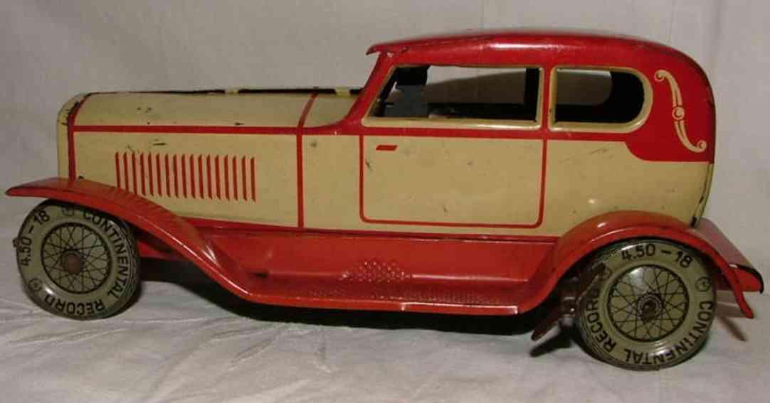 distler johann blech spielzeug auto limousine mit uhrwerk jdn 1702
