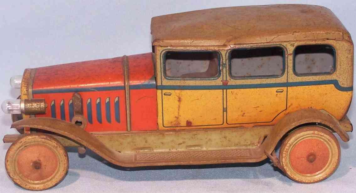 distler 3753 blech spielzeug auto limousine uhrwerk