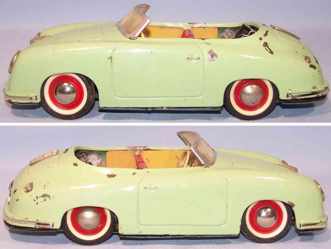 distler johann 7500 tin toy car porsche electric drive
