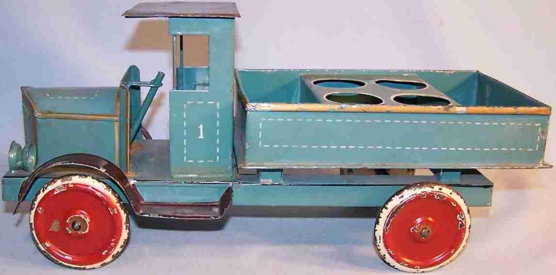 doll blech spielzeug milchlastwagen