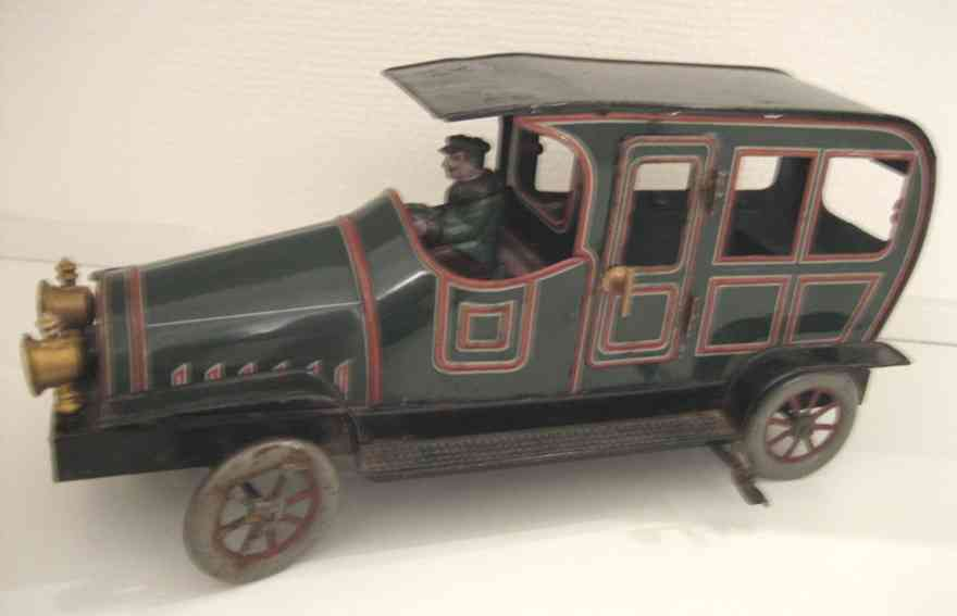 Eberl Hans Oldtimer Limousine mit Uhrwerk mit Fahrer und 2 Türen zum Öffnen