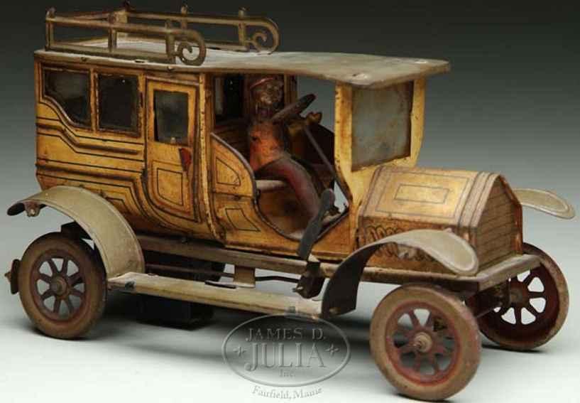 Eberl Fahrzeuge-Oldtimer Limousine cremefarben