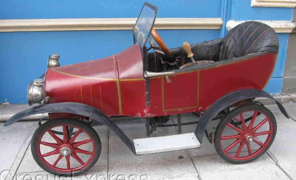 eureka brevete sgdg blech spielzeug auto peugeot, kinderauto bp1 bugatti