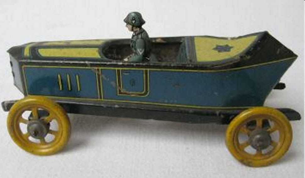 fischer georg tin toy touring car