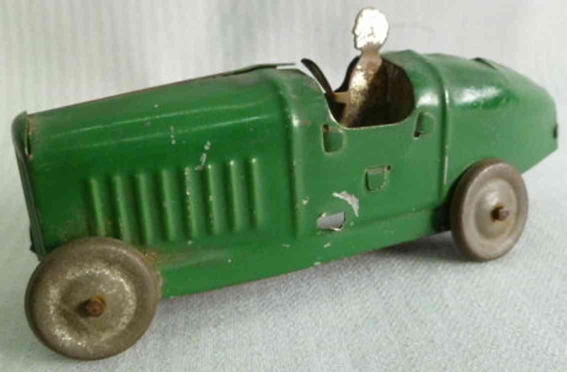 fischer georg tin toy car bugatti of a carousel