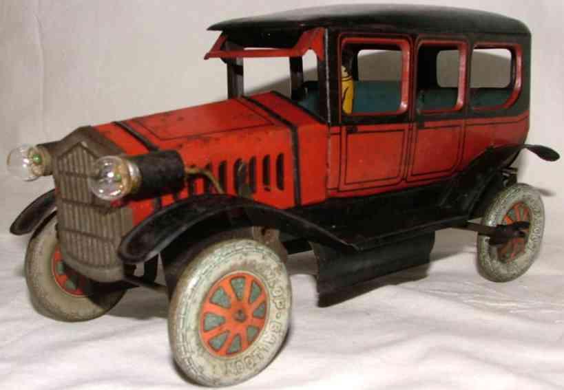 Fischer Heinrich Oldtimer Limousine with clockwork and stop light