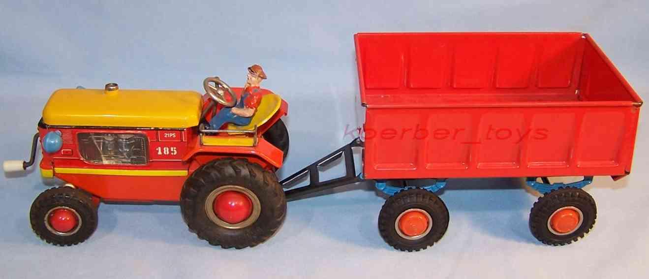 GAMA 185/4 Traktor mit Anhänger