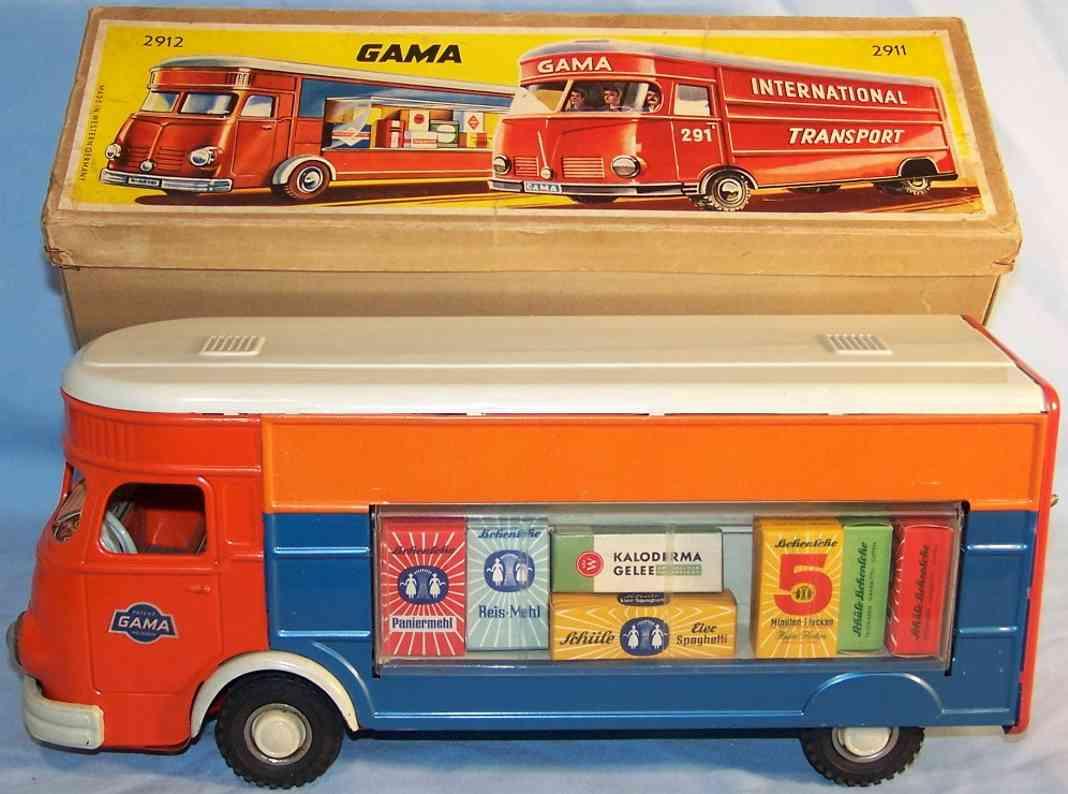 GAMA 291/2 Verkaufslastwagen aus Blech