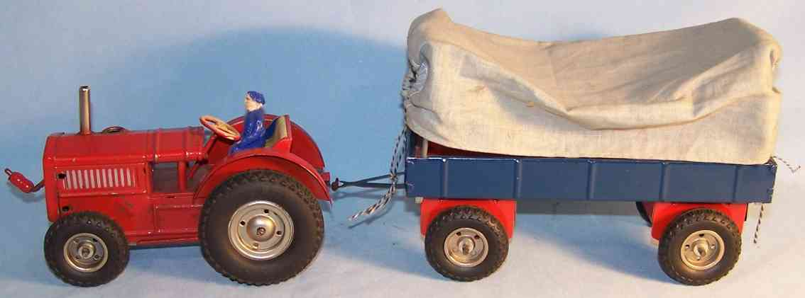 GAMA 78Tractor with trailer