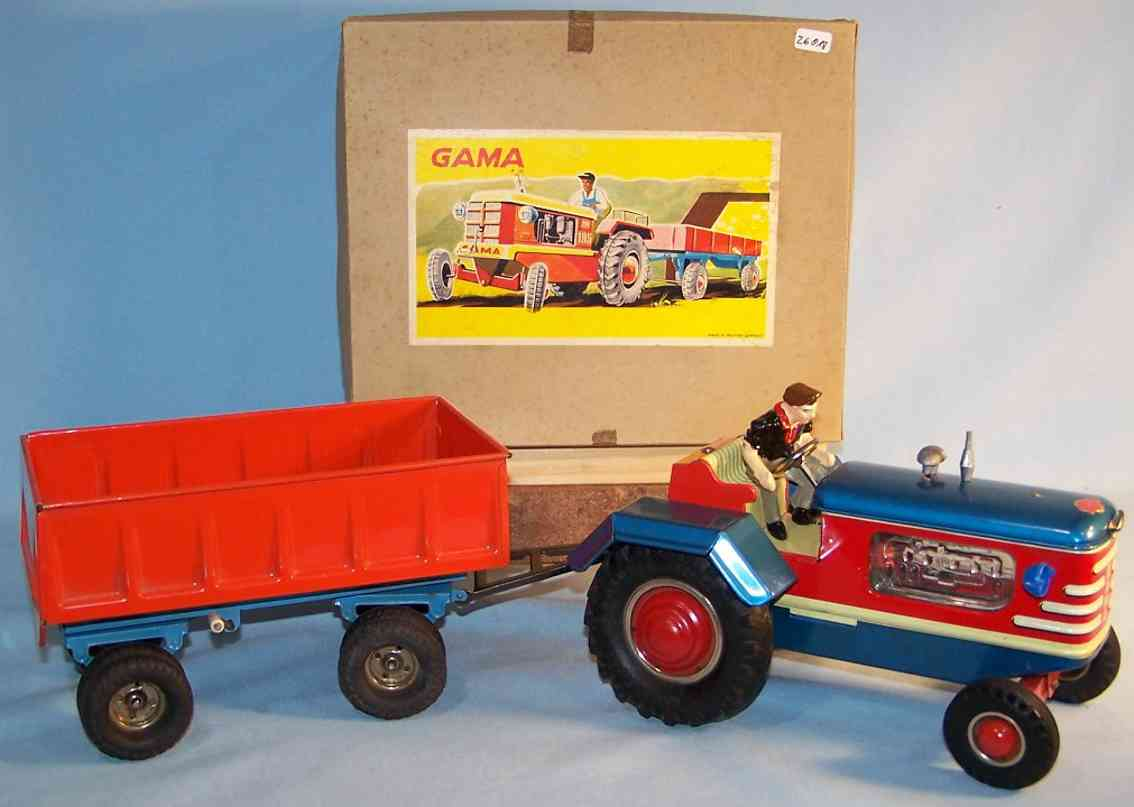 GAMA 800E Tractor with suspender