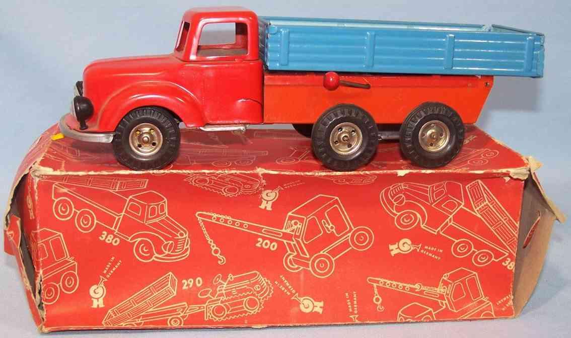 geier hans 380 tin toy dump truck