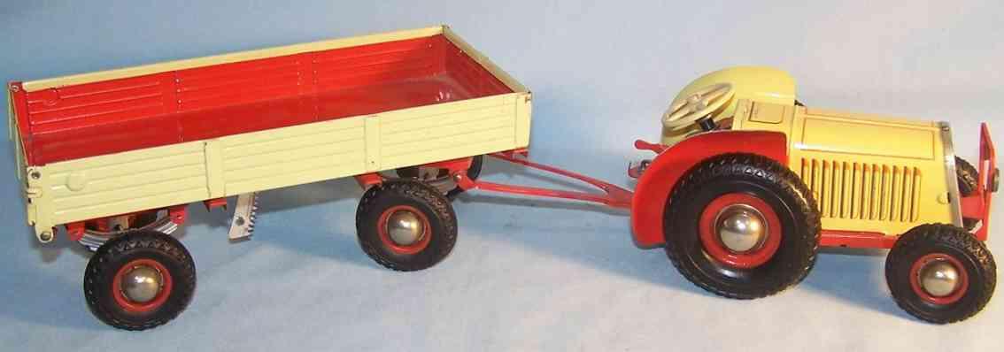 Gescha 71-2 Tractor with trailer
