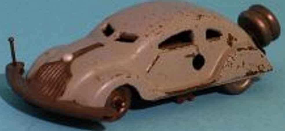 gescha blech spielzeug auto patentauto mit uhrwerk wurde später von schuco übernommen