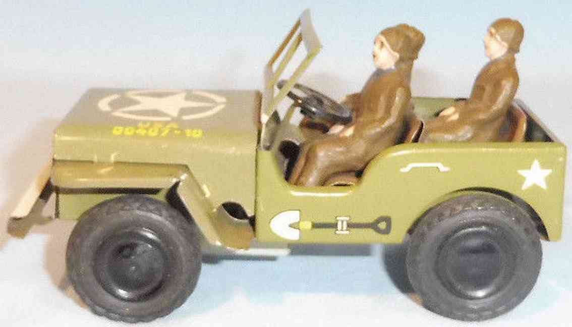 goeso 404/10 blech jeep besatzung schwungradantrieb us army