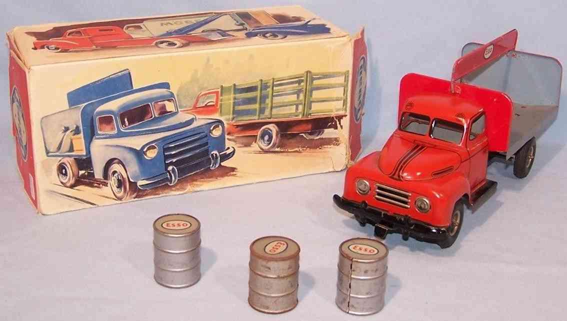 goso 483 tin toy hanomag pickup truck esso clockwork