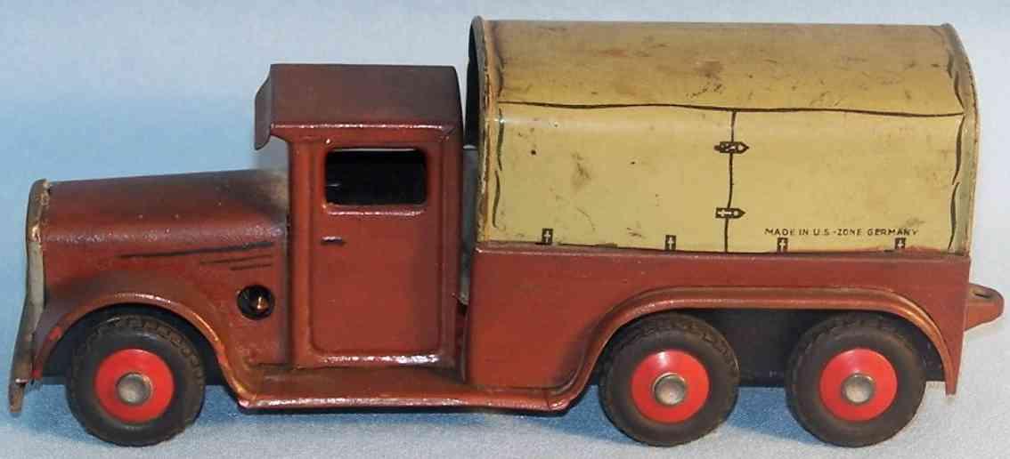 Göso Kleiner Lastwagen in braun