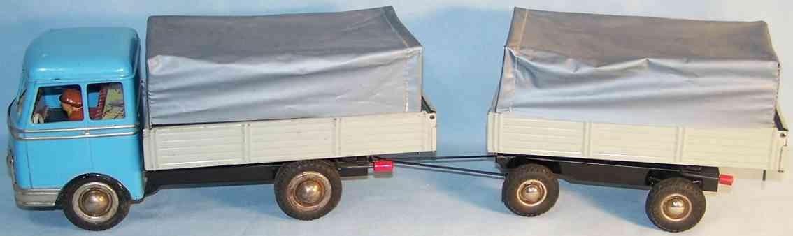 Göso Lastwagen mit Anhänger