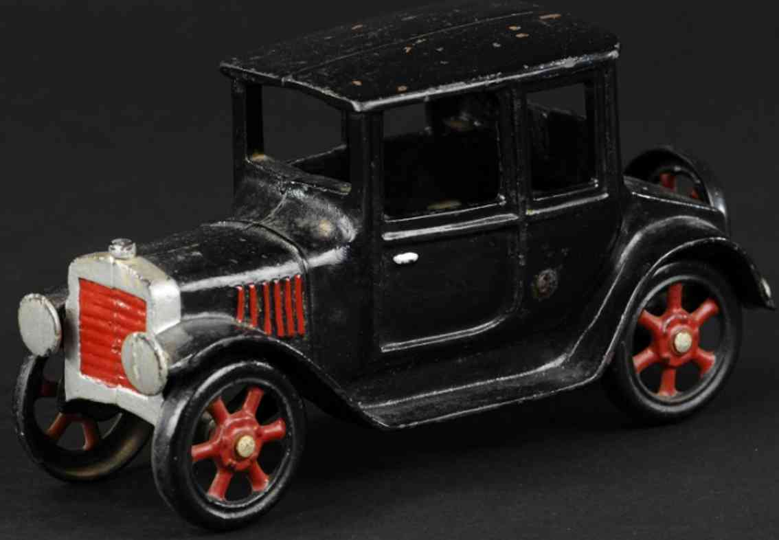 grey iron casting company black cast iron toy car coupe
