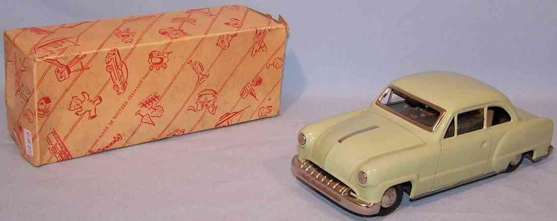 guenthermann 501/33 tin toy car opel shark blassgrzeb graz electric drive