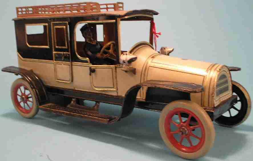 Günthermann Oldtimer Limousine mit Uhrwerk Türen zum Öffnen