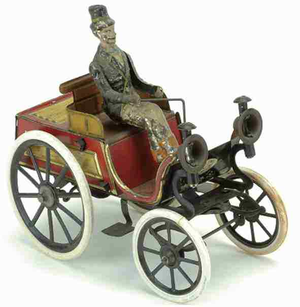Günthermann Oldtimer Phaeton mit Fahrer