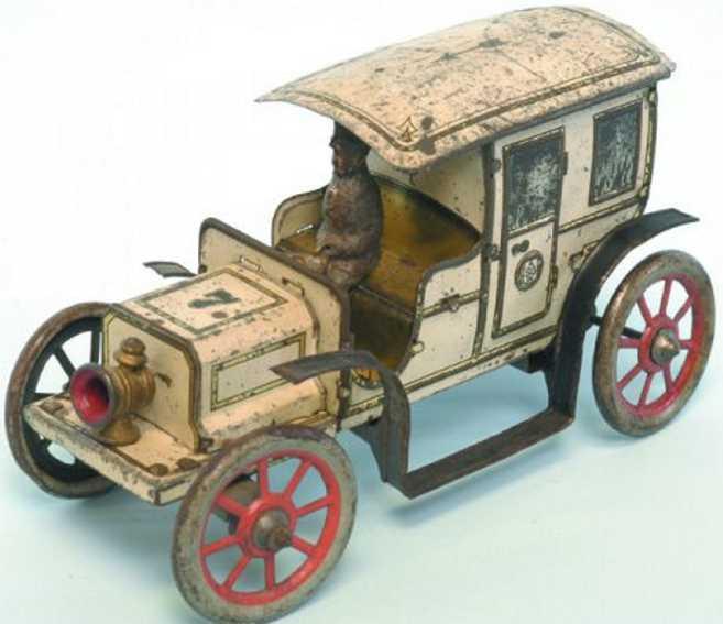Günthermann Taxi lithografiert